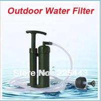 hot sale purifier ceramic outdoor water filter suit for camping and emergengy mini filters outdoor portable water purifier