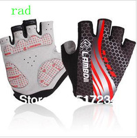 New 2014 Professional Half Finger Cycling Gloves Prevent Wear Anti-Slip Bicycle Gloves Riding Gloves Racing GlovesFree Shipping