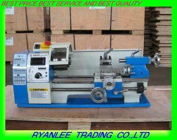 Free shipping stepless variable speed lathe/ WM180V 600w  /180*300mm mini Horizontal  household lathe machine
