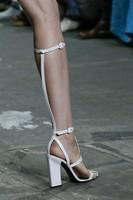 Big size Gladiator bandage sandals white black knee high platform sandals heels boots high heels designer Women Boots shoes 2014