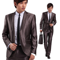 Suit suit wedding dress upscale men's suits Slim mens blazer men coat suit mens silver suits two-piece suit men suit sets