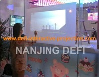 """17"""" Transparent Interactive Touch Foil Film, Multi Touch Foil Glass,Flexible touch foil film  can be laminated onto glass"""