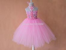 popular pink girl dress
