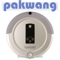 4 in 1 Multifunction automatic robot vacuum cleaner a325 light golden, UP,MOP,Recharge Base, Virtual Wall, Remote control
