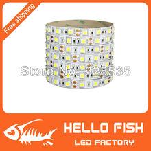 High quality 5m 300 LED 5050 SMD 12V LED strip flexible light 60 led/m,LED decorative light strip(China (Mainland))