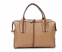 New Arrived Casual Popular Handbag 100% Genuine Leather Shoulder Tote Bag High Quality Woman Bag Free Shipping