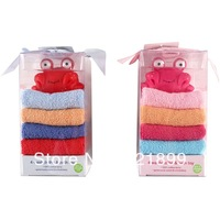 4pcs/lot Baby Bathrobe/Baby Bath Towel/Kids Bath Robe/Infant Bath Towels+Free Animal