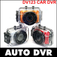 2014 New HD 720P Waterproof Sport DVR Camera with 20 meter Water Resistant Case Portable Video recorder Free Shipping