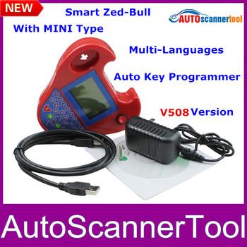 V508 Software Zedbull Auto Key Programmer Smart Mini Zed-bull Works Multi-brand Cars With 2014 Latest Freeshipping