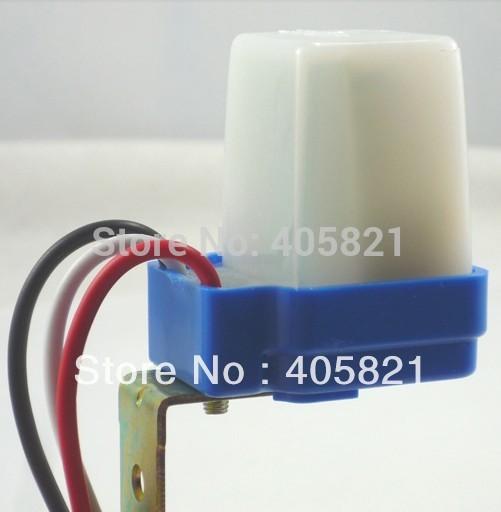Waterprooof auto lamp switch/ photoswitch AS10 AC220V 10A(China (Mainland))