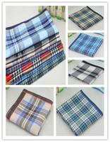 2014 Hot Sale  men  handkerchief Gentlemen's pocket squares gentlemen hanky high quality soft 100% cotton