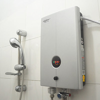 Electric water heater / shower / M6 thermostat / Tankless / 5000-8000W / rapid thermal / free storage bathing machine