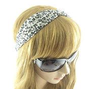 Fashion Westem Style  Woman's Accessories Leopard Print Headwear  Kink Headbands