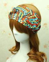 Fashion Westem  Woman's Accessories Colourful Headwear  Kink Headbands