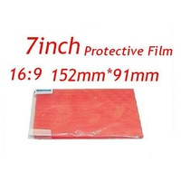 """New 7 inch Screen Protectors Film For 7"""" Tablet PC NOT Full-Screen 155x92mm 7 inch Universal  Clear LCD Screen Protector 50Pcs"""