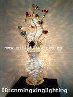 Art Decoration Flower Table Lamp 7709-5