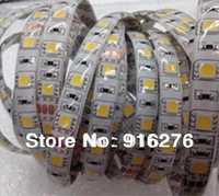 5m 5050 SMD 300  led strip light warm white / Cool white / red / green / blue / yellow / pink/ purple/ rgb  Waterproof IP65 12V
