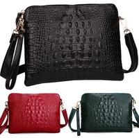Promotion 100% Genuine leather crocodile women handbags shoulder bag women messenger bags Day clutch handbag 2015 new arrival