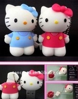 free shipping hello kitty usb flash disk for promotional gift 1gb--32gb