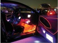 Car lights interior ambience Designed EL cold light mood light car decorative lights interior refit 2M
