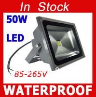 10Pcs High quality LED 50W 85-265V Flood Lights Brightness 5000LM LED waterproof IP65 DHL / Fedex free