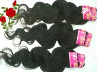 "6pcs/lot Mixed Length Cheap Brazilian Body Wave Remy Human Hair Extensions12""14""16""18""20""22"" 26""28""DHL Free Shipping"