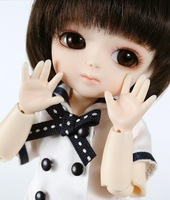 Free Shipping 1/8 Lumi. AI BJD Doll, 16cm SD Baby Doll Toy, Free Make-up & Eyes Included, Best Gift Fashion Doll