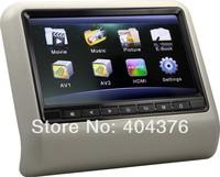 Car Headrest Monitor,TFT LCD Touch Screen DVD/USB/SD/MP5/1080P AV1 AV2 4 Colors New Type Headrest Monitor