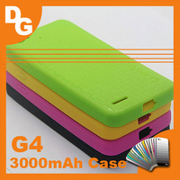 Hot Sale  5 Colors 3000 mAh Version Original Fashion Silicon Case For Jiayu G4 G4C G4S Android Smartphone 10pcs/ lot