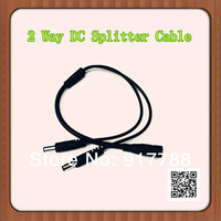 2.1MM 2 Ways DC Power Cable for CCTV Camera Systems
