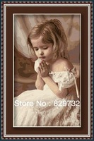 JIUJIU DIY digital oil painting Free shipping picture unique gift 40X50cm Devoutly pray canvas decoration paint by number