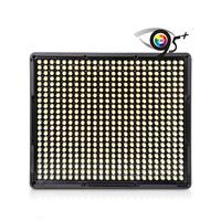 Aputure Amaran Led Light for video camera DSLR With 528 Bulbs led light panel for canon nikon Pentax   DV Camcorder
