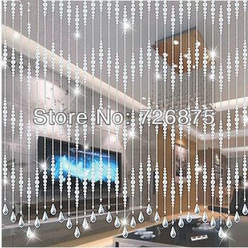 Cristal cord n de cortina de cristal k9 perlas colgantes - Cortinas hechas en casa ...
