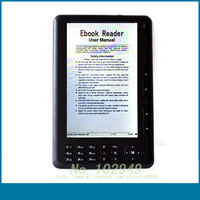 High Quality 7 inch 720P Ebook Reader 8GB E-book with Free shipping