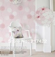 Warm and Elegant Pastoral Wallpaper floral wallpaper
