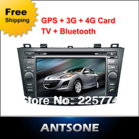 MAZDA 3 2012 With CANBUS Car DVD With GPS Navigation Bluetooth Radio IPOD Free Shipping + 4G Card & Map