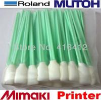High Quality - 100 pcs  Roland SP540V Versacamm Cleaning Swabs Kit Cleaning Sticks Roland SP 300 SP 540V