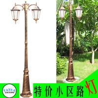 Garden lights fashion exquisite column lights outdoor waterproof road lights balcony decoration lamp