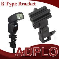 Light Stand Bracket B, Wholesale Swivel Flash Light Stand Mount Bracket Shoe Umbrella Holder Type B , Free / Drop Shipping
