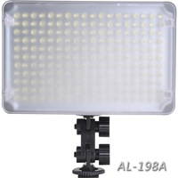 Aputure Amaran AL-198A Led Video Camera Lighting  for Canon Nikon Sony Olympus Pentax & Camcorder Dslr Camera Freeshipping