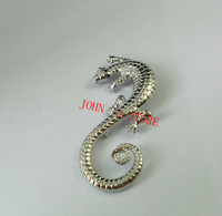 Freeshipping wholesale 20pc a lot Hobbit Lord of the Rin gs The Saruman brooch  CNMDS12