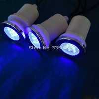 10pcs waterproof  multic RGB LED underwater light / bath tub light  with 1pc manual light controller+1transformer