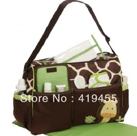 High quality Retail Fashion 2014 Multifunctional Nappy Mummy Bag Maternity Handbag Diaper Bags baby Tote Organizer hot sale 0139