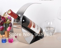 Hot sell 1 bottle table stainless steel red wine holder wine stand