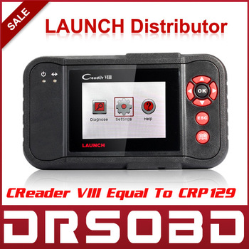 2013 New Released Original Auto Code Reader Launch X431 Creader VIII Equal To CRP129 Creader8 Update Via launch Offical Website