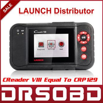 2015 Original Launch Creader VIII Code Reader Same Function as CRP129 Creader 8 ENG/AT/ABS/SRS EPB SAS Oil Service Light resets