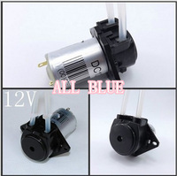1pc newDC 12V DIY dosing pump peristaltic pump Head For Aquarium Lab Analytical water freeshipping tubing pump hose pump