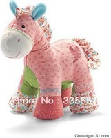 NEW Arrival Baby Toys Small Size Toy Toddler Doll Retail And Wholesale Toy Gift for Children Toys Small Pink Horse Free Shipping