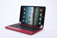 For Apple iPad Mini Aluminum Bluetooth 3.0 Wireless Keyboard Holder Case Cover