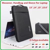 "High Quality Nylon Shouler, Message Bag, Sleeve, Handbag, Case For  Laptop 13"",14"".15"",15.6 inch, Notebook .Wholesale, Free Ship"